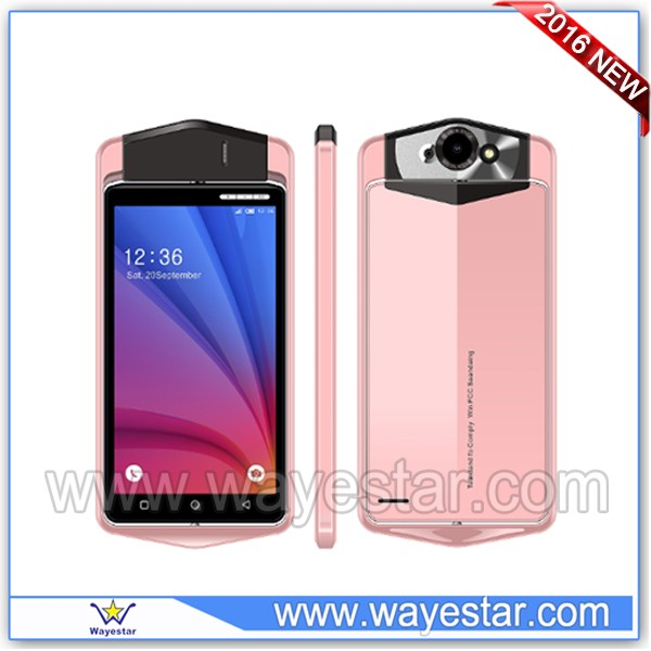 100% New Not Used Mobile Phone With Rotating Cameras MTK 6580