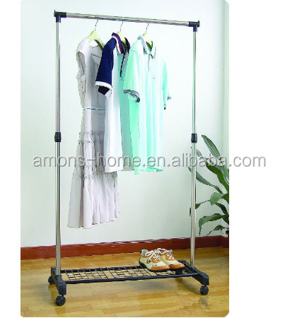 High Quality Single Pole Stainless Steel Hanging Clothes Drying Rack