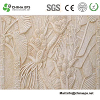foam columns with decorative plaster molds for hot sell customized door marble border design