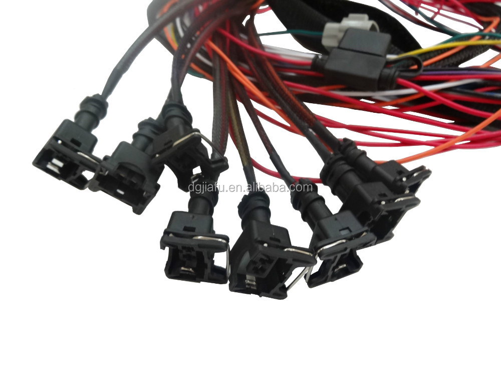 Factory customized ecu wire harness for automobile