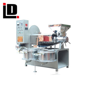 commercial soybean hemp palm corn oil refined pressing machine palm mustard oil expeller machine