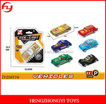 Hot sale promotional 1:64 free wheel diecast model vehicles for children