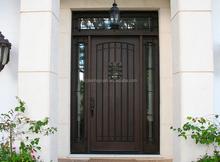Unfinished Wood Exterior Door, Unfinished Wood Exterior Door Suppliers And  Manufacturers At Alibaba.com