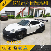 JC Sportline LB Style FRP Auto Body Parts for Porsche 911 997 Turbo