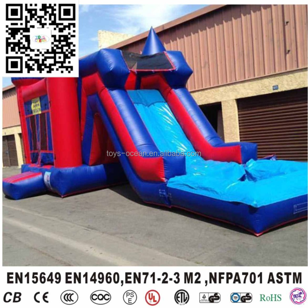 Hot sale custom party combo inflatable bouncer with slide for children game