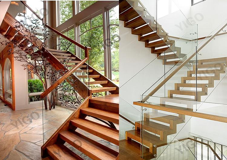 Enkele stringer trap leuning ontwerp metalen trap gebruikt buy