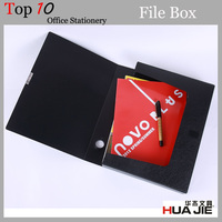 Case shape and plastic office stationery A4 size box file