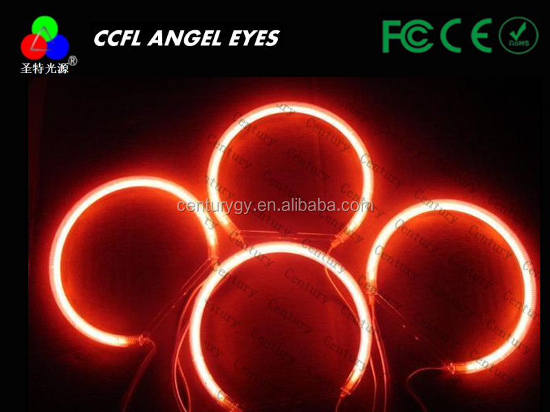 CCFL China manufacturer 131mm car ccfl angel eyes halo rings for bmw E36 E38 E39 E96