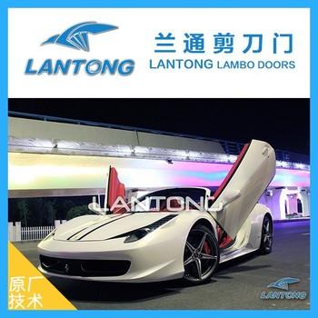 Bolt On Lambo Doors Vertical Door Kit Body Kit For 458