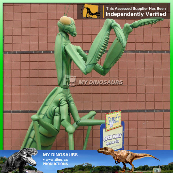 My Dino-3d movies animatronic insects silicone anime figures mantis