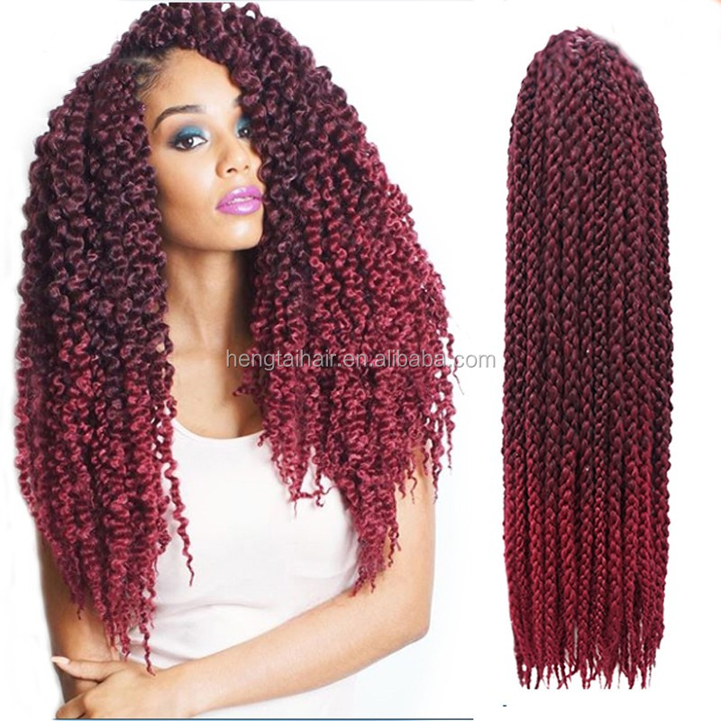 Ombre 12inch Slim Gray Havana Mambo Twist Crochet Braid Hair