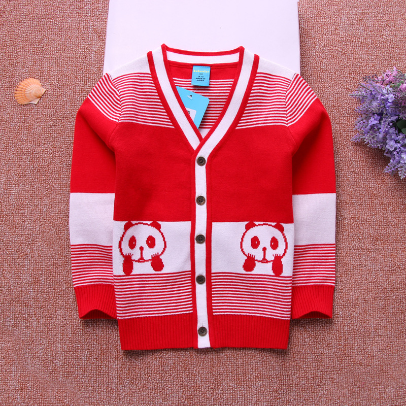 Children Sport Anime Cardigan Sweater With Computer Knitted Selling Websites