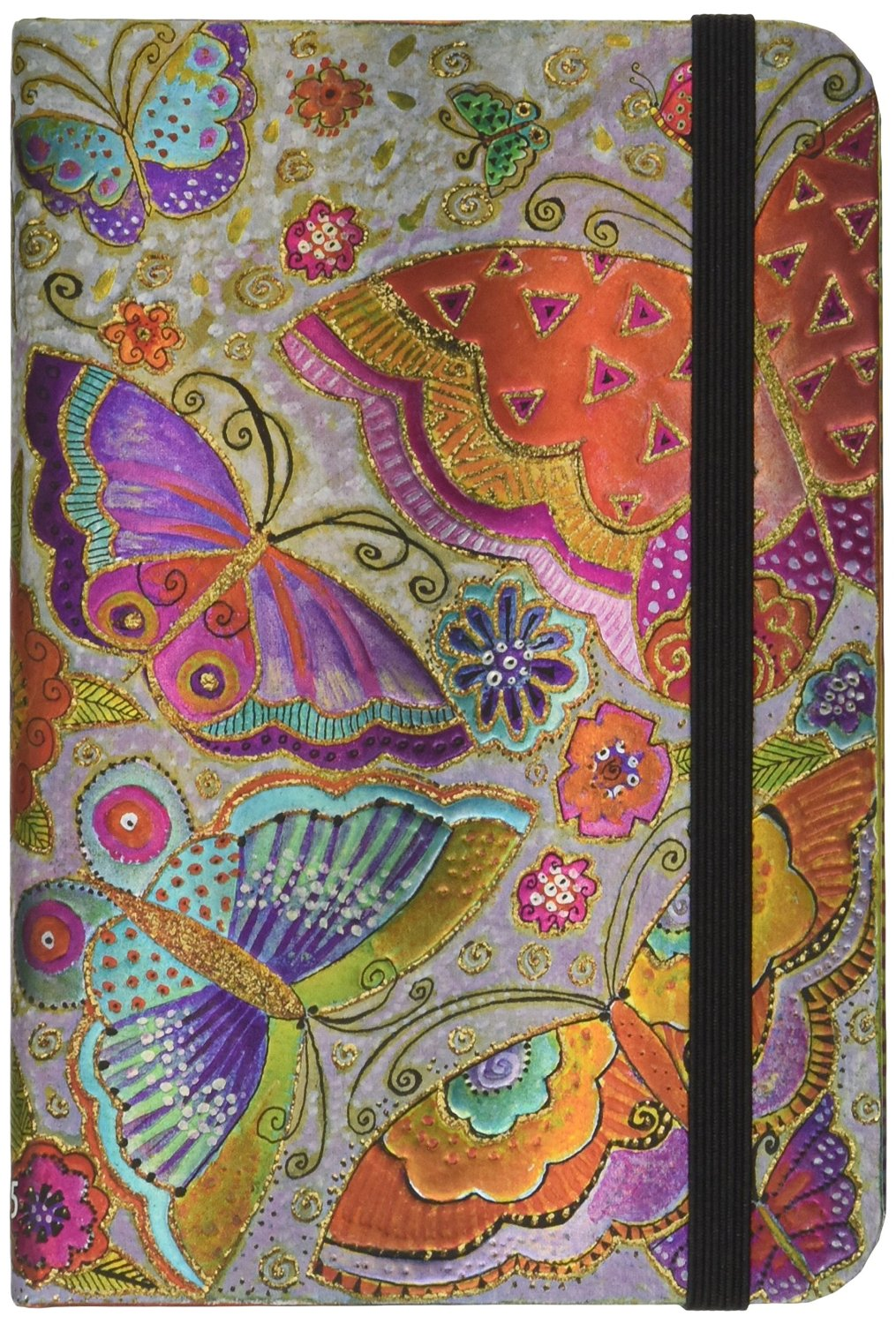 Flutterbyes - 2015 Paperblanks Weekly Planner (Mini 3.5 x 5.5 Horizontal)