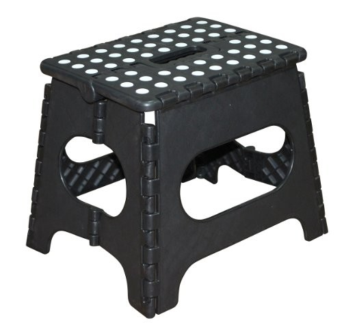 EASTOMMY 11-Inch Plastic Folding Step Stool