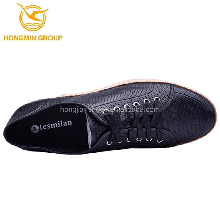 men shoes italian fashion leather european high up guangzhou wholesale casual lace breathable shoes men class 2018 qwESnZBpvn