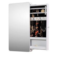 Attractive Appearance Jewelry Organizer Cabinet With Mirror