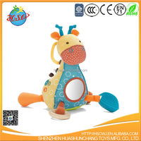 new design stuffed animal rattle toy for babies