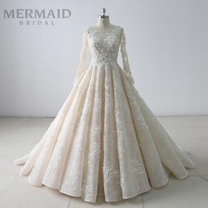 Muslim Saudi Arabia Wedding Dress b87b05509f88