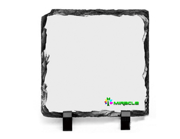 Manufacture Wholesale Customized Excellent Quality Sublimation Blank Rock Slate Photo Frame