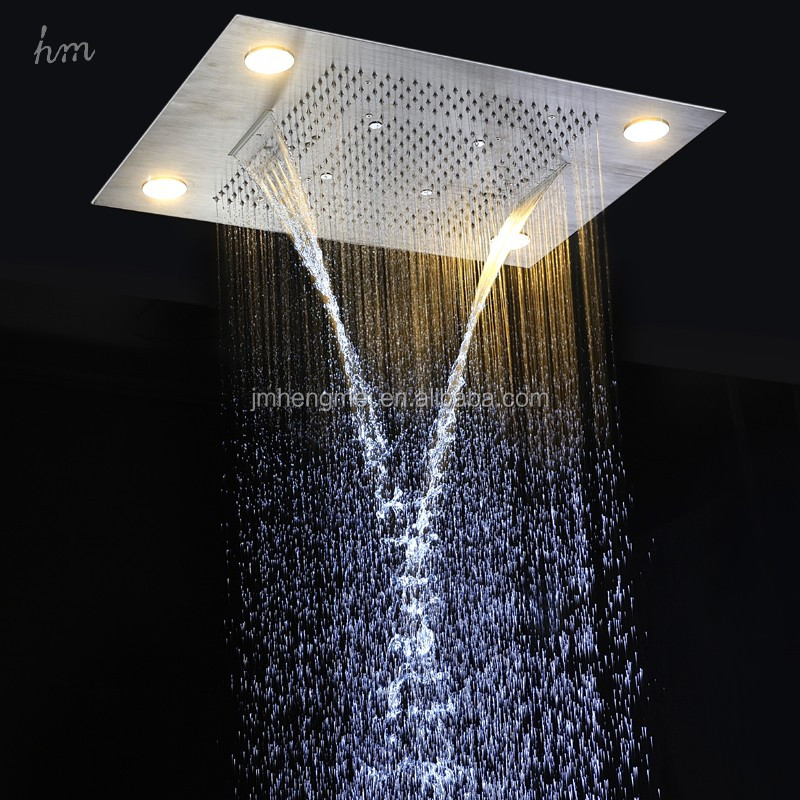 Hot Selling Ceiling Mounted Multi-funtions Bath Led Rainfall ...