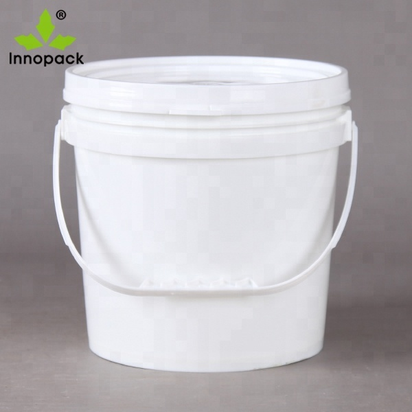(High) 저 (온도 10L 유연한 싼 clear plastic bucket, 플라스틱 container 와 lid 및 handle