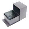 Printing Black Paper Custom Logo Watch Box, Wholesale Luxury Cardboard Watch Packing Gift Box With Sponge Cushion