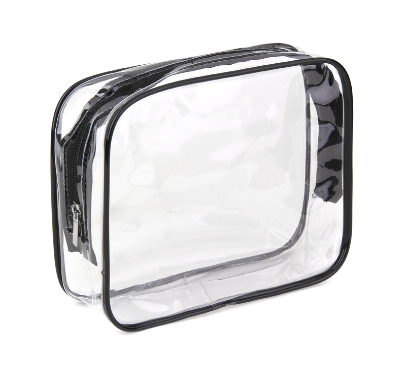 Clear Pvc See Through Bags For Cosmetic Bag Makeup Travel Pouch Ziplock Toiletry