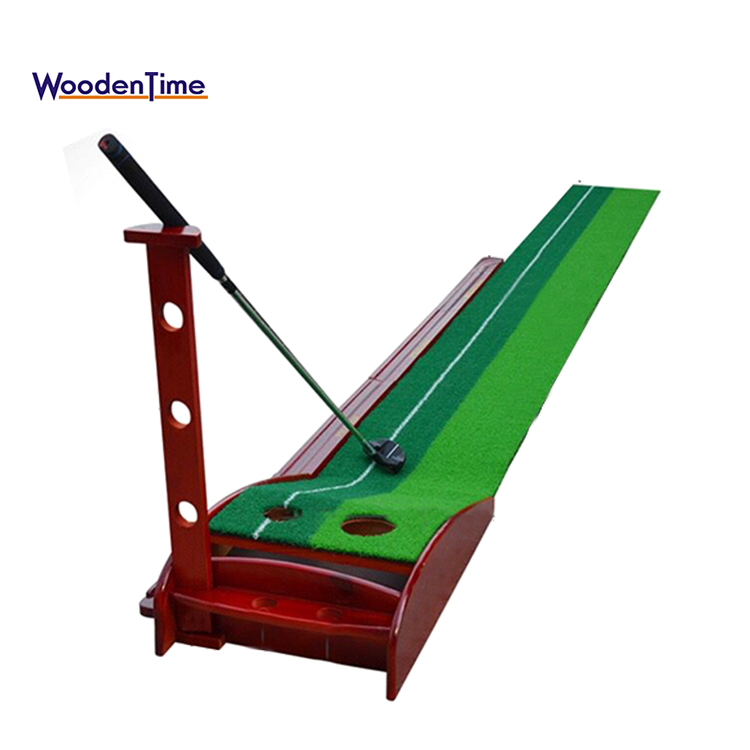 Factory best selling Putting Mat/mini Golfbaan/putting Trainer