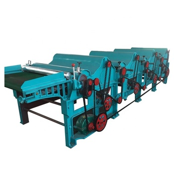 Discount price polyester staple fiber opening machine with small capacity