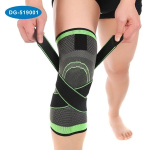 Professional Weaving compression Support Knee Brace Basketball Cycling Knee Protector