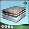 Ecofriendly decorative weather resistance colorful glittering pvc sheets