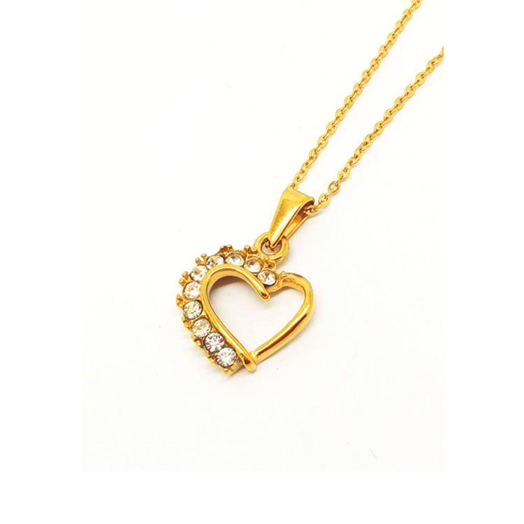 Wholesale Alibaba New Gold Chain Design Girls Heart Lover Key ...