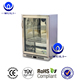 138L Stainless Steel Commercial Back Bar Refrigerator Freezer