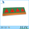 High Quality Triangle Fractions Metal Material Montessori Child Toy