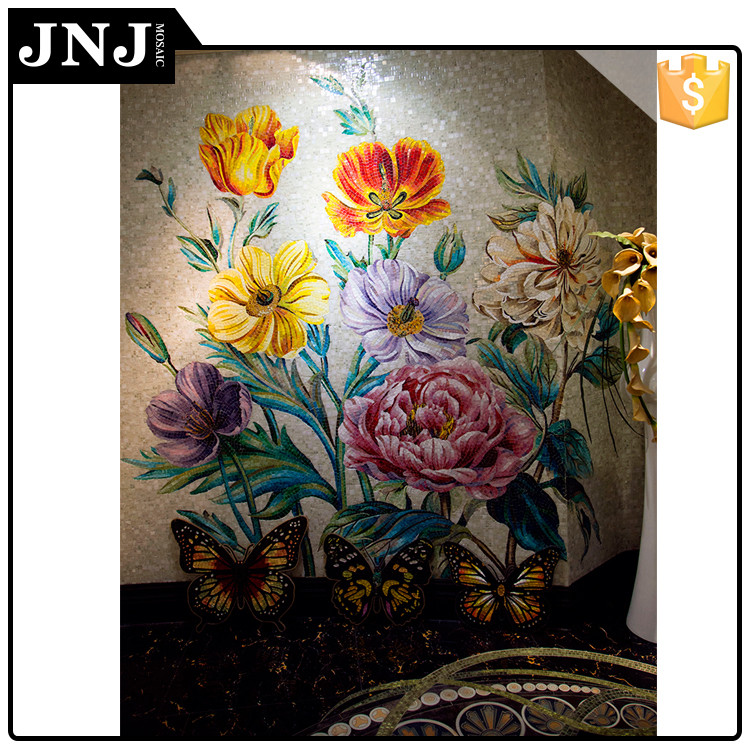 Restaurant Design Mosaic Painting 3D Mural Wall Picture