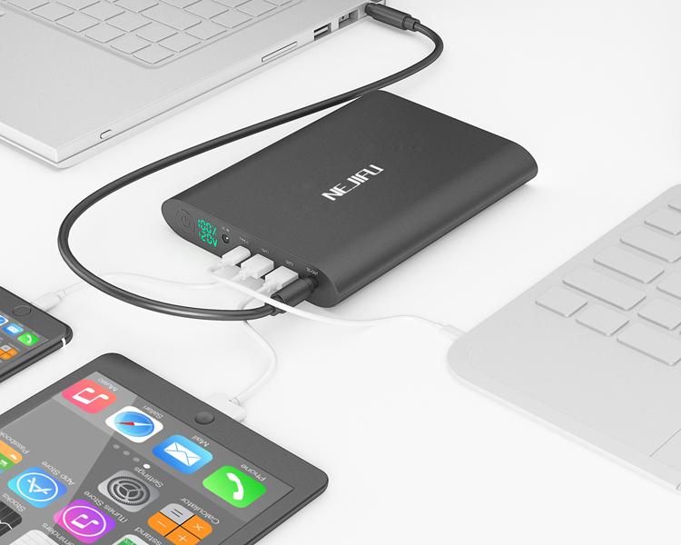 12 볼트 16 볼트 19 볼트 19.5 볼트 20 볼트 laptop powerbank 50000 미리암페르하우어 와 qc3.0 quick charge 대 한 Macbook, 노트북, 노트북