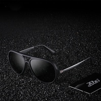 Aluminum Frame Sun Glasses Metal Sunglasses Frames Men's Eyewear Accessories For Men