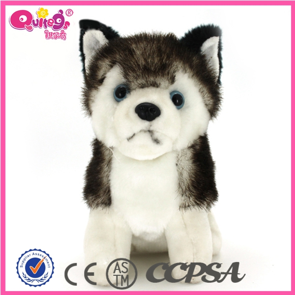 cute plush stuffed toy plush wolf toy