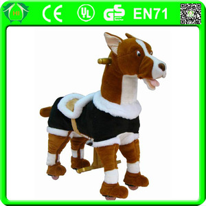 HI EN71 Promotional toys stick horses for sale,wooden stick horse