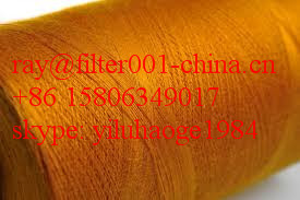 100% Polyimide Filament Yarn/100% Polyimide Threads/Polyimide Fiber Needle Felt Cloth and Bags For Dust Collection System