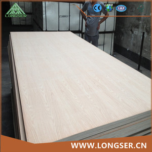 Factory price bb/cc grade oak 18mm fancy plywood for Mexico