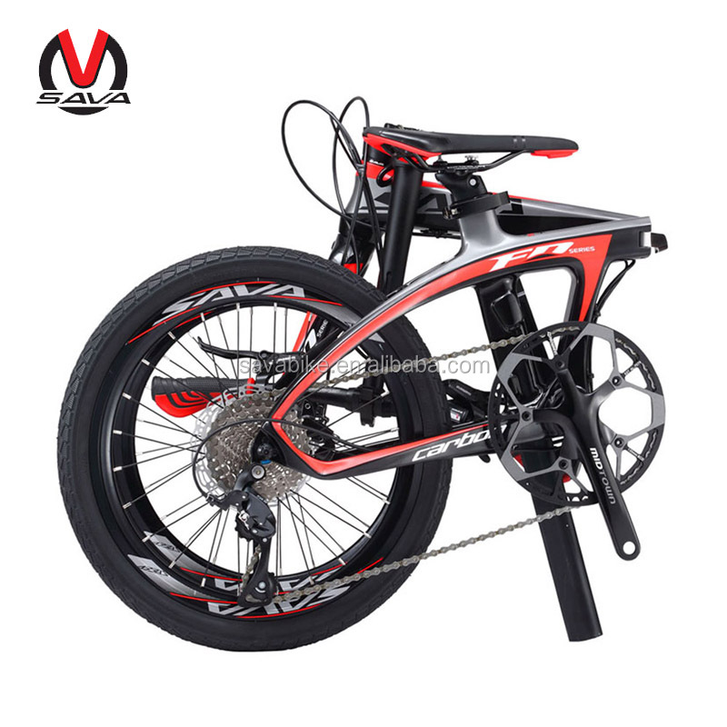 Top quality SORA R3000 group set china carbon folding bike CE certificate folding bicycle 20 inch