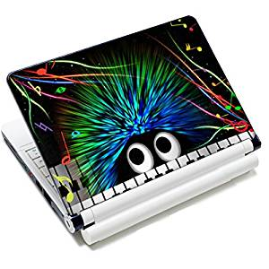 """Universal Size Laptop Notbook Decal Skin Sticker Protector Laptop Skin For 11.6"""" 12"""" 12.1"""" 12.2"""" 12.5"""" 13.3"""" 14"""" 15"""" 15.4"""" 15.6"""" inch Apple Mac Pro MacAir HP Asus Aser Toshiba Dell Sony Lenovo,Includes 2 Wrist Pads, Hedgehog"""