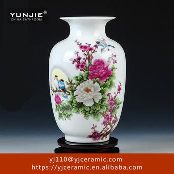 Flower Porcelain Vase Style Factory Direct Ceramic Vase Ceramic Wall