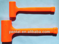 multi-purpose shockproof and no rebound dead blow mallet hammer