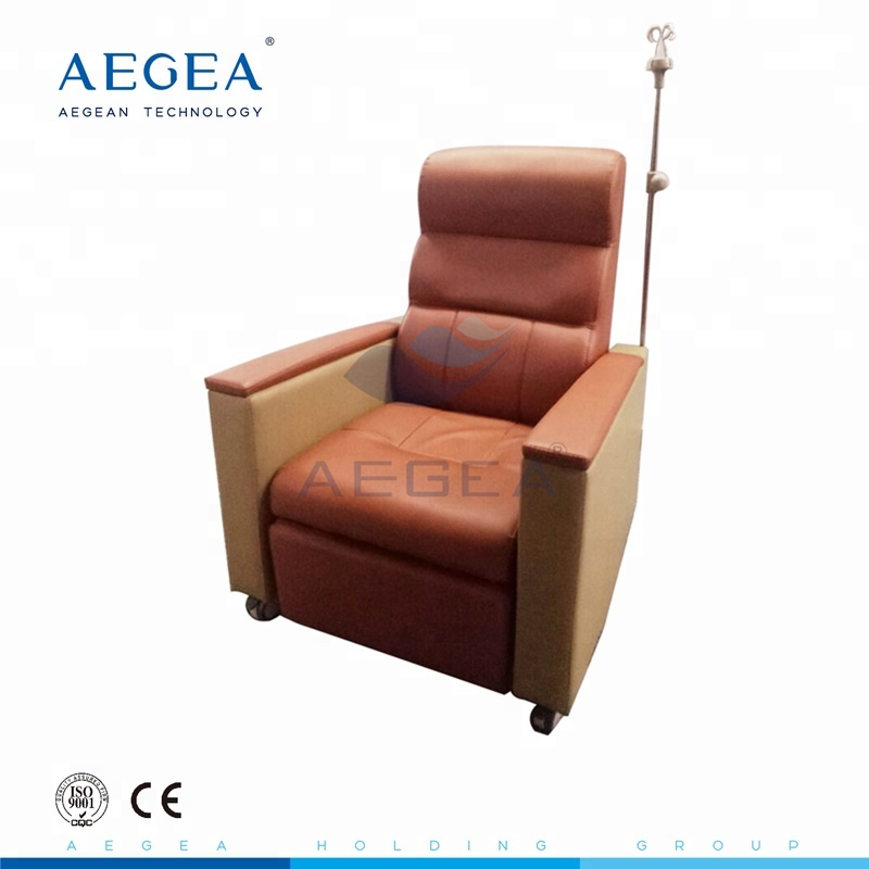 Advanced reclining furniture anique single sofa design hospital medical used infusion chairs