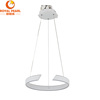 Contemporary design durable thin hanging circle large pendant light