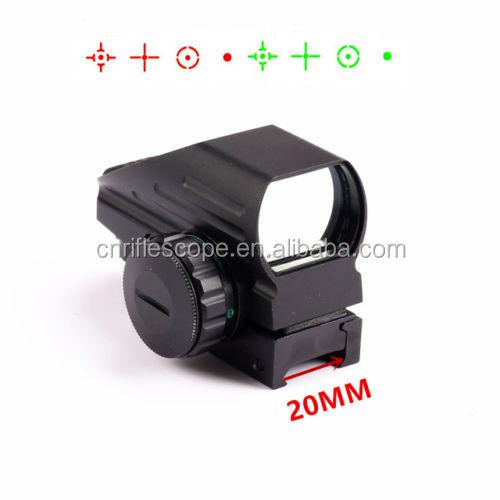 Electro Rosso e Verde Dot 4 Reticolo mirino reflex