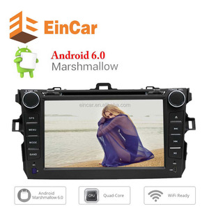 Quad Core Android 6.0 Car DVD Player 7'' Touchscreen Stereo Autoradio for Corolla Double Din GPS Navigation Support BT/WiFi/OBD2