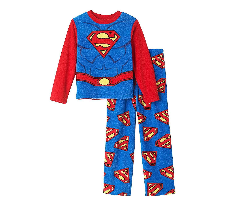 831b8e2b5a Boys  4-10 2-Piece Superman Pajama Set